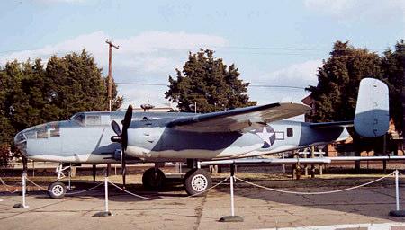 North American PBJ (B-25) at the USMC Aviation Museum in Quantico, VA