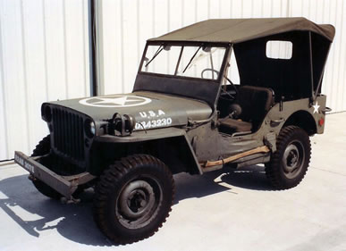 Restored WWII Ford Jeep