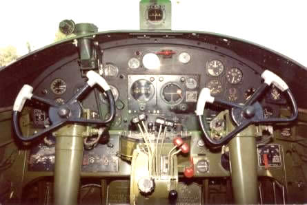 PBJ Cockpit Instrument Panel